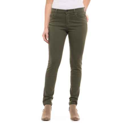 Lole Long Stretch Skinny Jeans (For Women) in Lichen - Closeouts