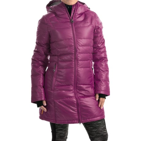 Lole Louisiana Duck Down Jacket - 500 Fill Power (For Women) in Mulberry