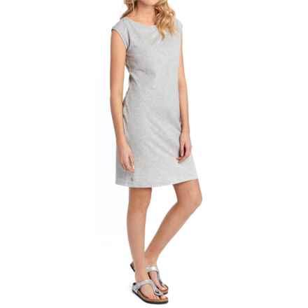 Lole Luisa Dress - Short Sleeve (For Women) in Light Grey Heather - Closeouts