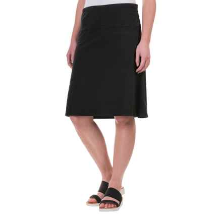 Lole Lunner Convertible Skirt - UPF 50+, Organic Cotton (For Women) in Black - Closeouts