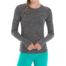 Lole Lynn Shirt - UPF 50+, Long Sleeve (For Women) in Black Heather - Closeouts