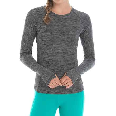 Lole Lynn Shirt - UPF 50+, Long Sleeve (For Women) in Black Heather - Closeouts