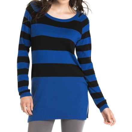 Lole Mable Tunic Sweater - UPF 50+ (For Women) in Blue Mountain Stripe - Closeouts