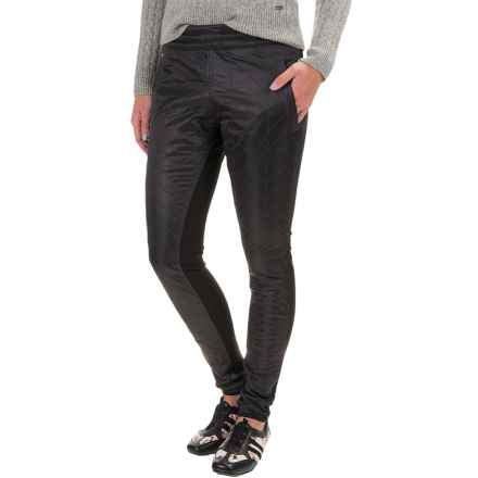 Lole Magical Quilted Pants (For Women) in Dark Charcoal Heather - Closeouts