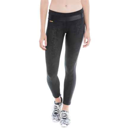 Lole Maile Running Leggings (For Women) in Black Festival - Closeouts