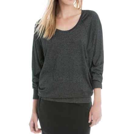 Lole Maja Knit Shirt - Long Sleeve (For Women) in Black - Closeouts