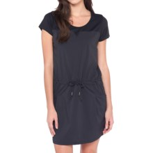 Lole Malena Dress - UPF 50+, Short Sleeve (For Women) in Black - Closeouts