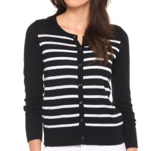 Lole Marbella Cardigan Sweater (For Women) in Black - Closeouts