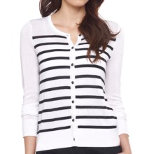 Lole Marbella Cardigan Sweater (For Women) in White - Closeouts