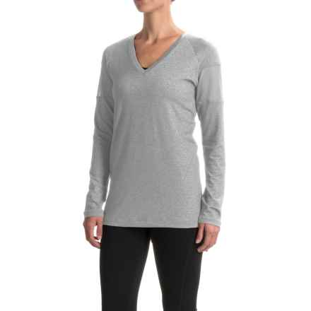 Lole Mason Tunic Shirt - V-Neck, Long Sleeve (For Women) in Meteor - Closeouts