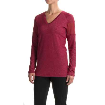 Lole Mason Tunic Shirt - V-Neck, Long Sleeve (For Women) in Rumba Red - Closeouts