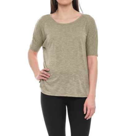 Lole Mercy T-Shirt - Short Sleeve (For Women) in Lichen - Closeouts