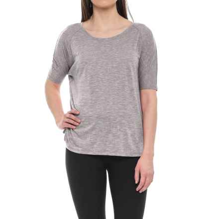 Lole Mercy T-Shirt - Short Sleeve (For Women) in Volcanic Glass - Closeouts