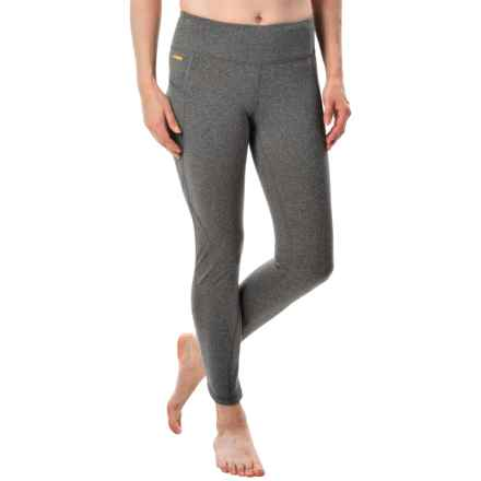 Lole Mila Crop Leggings (For Women) in Black Heather - Closeouts