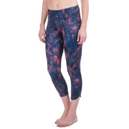 Lole Mila Crop Leggings (For Women) in Blue Tropical - Closeouts