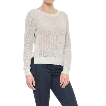 Lole Monroe Sweater (For Women) in White Heather - Closeouts