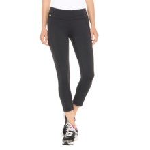 Lole Motion Crop Leggings - UPF 50+ (For Women) in Black - Closeouts