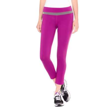 Lole Motion Crop Leggings - UPF 50+ (For Women) in Passiflora - Closeouts