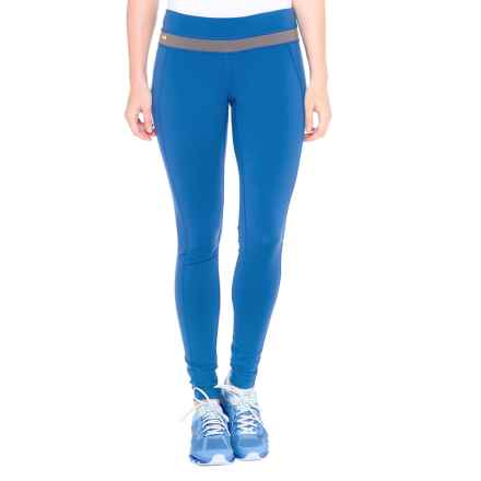 Lole Motion Leggings - UPF 50+ (For Women) in Blue Corn - Closeouts