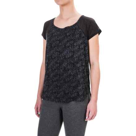 Lole Mukhala Shirt - Short Sleeve (For Women) in Black Cityscape - Closeouts