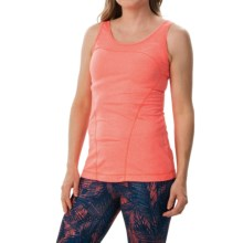 Lole Nadia Tank Top - UPF 50+ (For Women) in Fiery Coral Mix - Closeouts