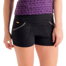 Lole Navasana Shorts (For Women) in Black - Closeouts