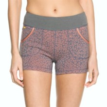 Lole Navasana Shorts (For Women) in Mandarino Cookie Piece - Closeouts