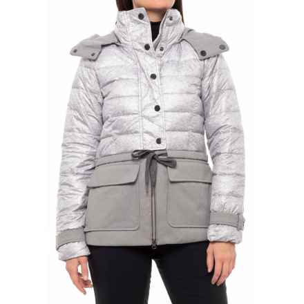 Lole Nelly Down Jacket - Waterproof (For Women) in Warm Grey - Closeouts