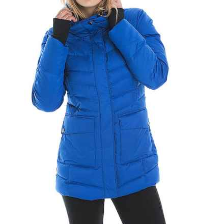 Lole Nicky Down Jacket - 600 Fill Power (For Women) in Blue Mountain - Closeouts