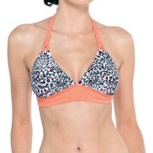 Lole Oahu Halter Swimsuit Top (For Women) in Mandarino Dots - Closeouts