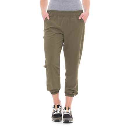 Lole Olivie Joggers (For Women) in Khaki - Closeouts