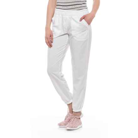 Lole Olivie Joggers (For Women) in White - Closeouts