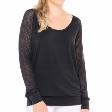 Lole Orchid Shirt - Long Sleeve (For Women) in Black - Closeouts