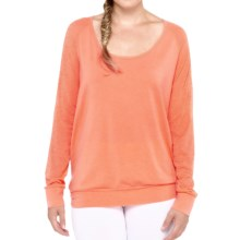 Lole Orchid Shirt - Long Sleeve (For Women) in Melon - Closeouts