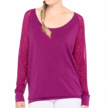 Lole Orchid Shirt - Long Sleeve (For Women) in Passiflora - Closeouts