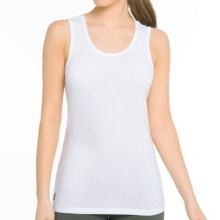 Lole Pinnacle Tank Top - UPF 50+, Organic Cotton Blend (For Women) in White - Closeouts