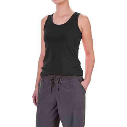 Lole Pinnacle Tank Top - UPF 50+, Organic Cotton (For Women) in Black - Closeouts
