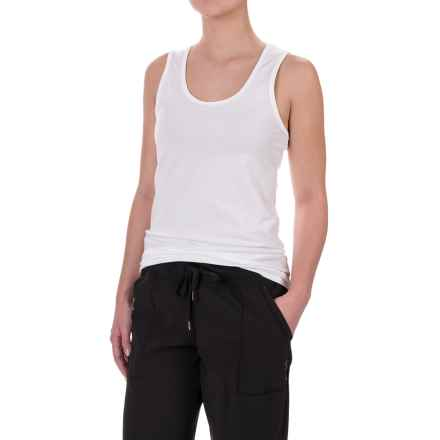 Lole Pinnacle Tank Top - UPF 50+, Organic Cotton (For Women) in White - Closeouts