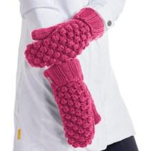 Lole Popcorn Mittens - Fleece Lined (For Women) in Campari - Closeouts