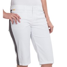 Lole Pursuit 2 Walk Shorts - Nylon, UPF 50+ (For Women) in White - Closeouts