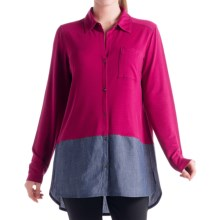Lole Rachel Blouse - Long Sleeve (For Women) in Beaujolais - Closeouts