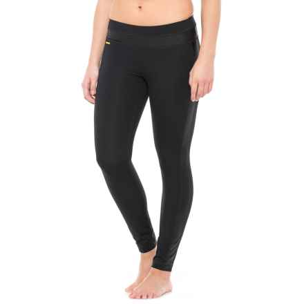 Lole Reid Embossed Leggings (For Women) in Black - Closeouts