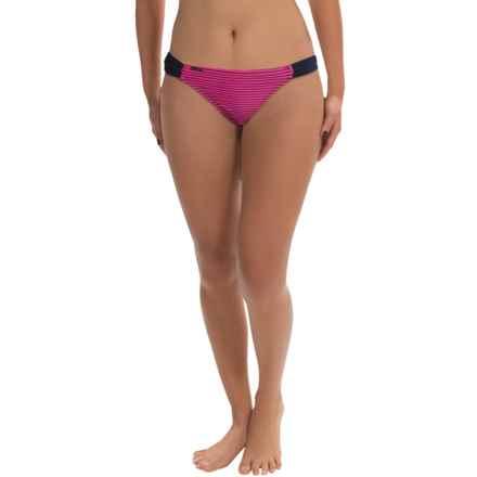 Lole Rio Bikini Bottoms - UPF 50+ (For Women) in Sahari Guava/Solidate Blue - Closeouts