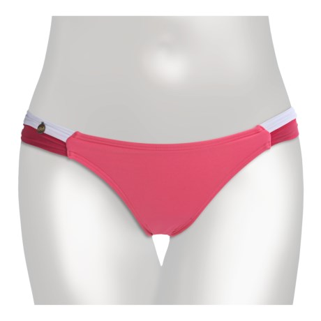 Lole Rio Bikini Swimsuit Bottoms (For Women) in Bubble Gum