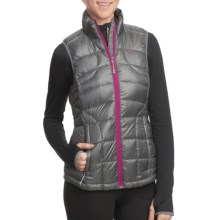 Lole Rose Downglow Vest - 600 Fill Power (For Women) in Charcoal - Closeouts
