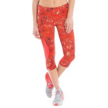 Lole Run Capris (For Women) in Bittersweet Impressionist - Closeouts