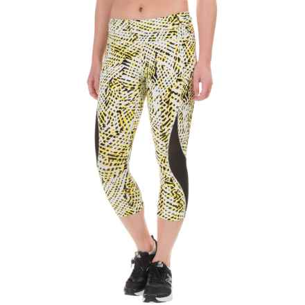 Lole Run Capris (For Women) in Sun Foliage - Closeouts