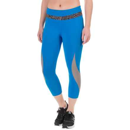 Lole Run Capris (For Women) in Tide - Closeouts