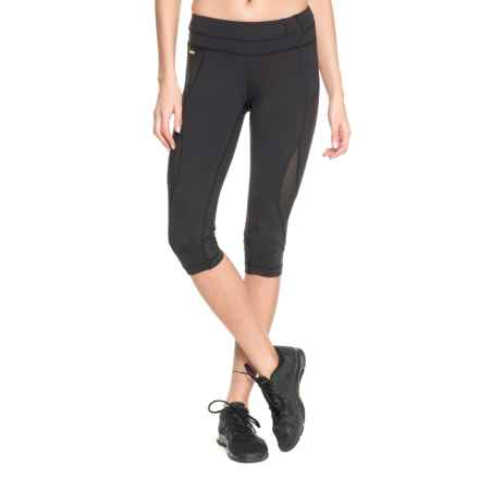 Lole Run Capris - UPF 50+ (For Women) in Black - Closeouts