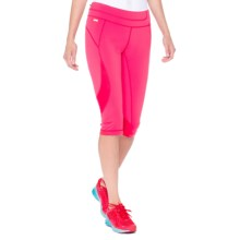 Lole Run Capris - UPF 50+, Mid Rise (For Women) in Chillies - Closeouts